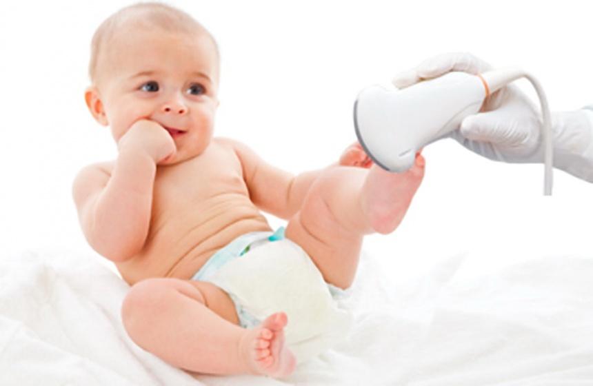 Процедура УЗИ для детей