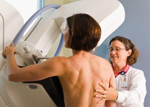 Исследование на маммогрфе