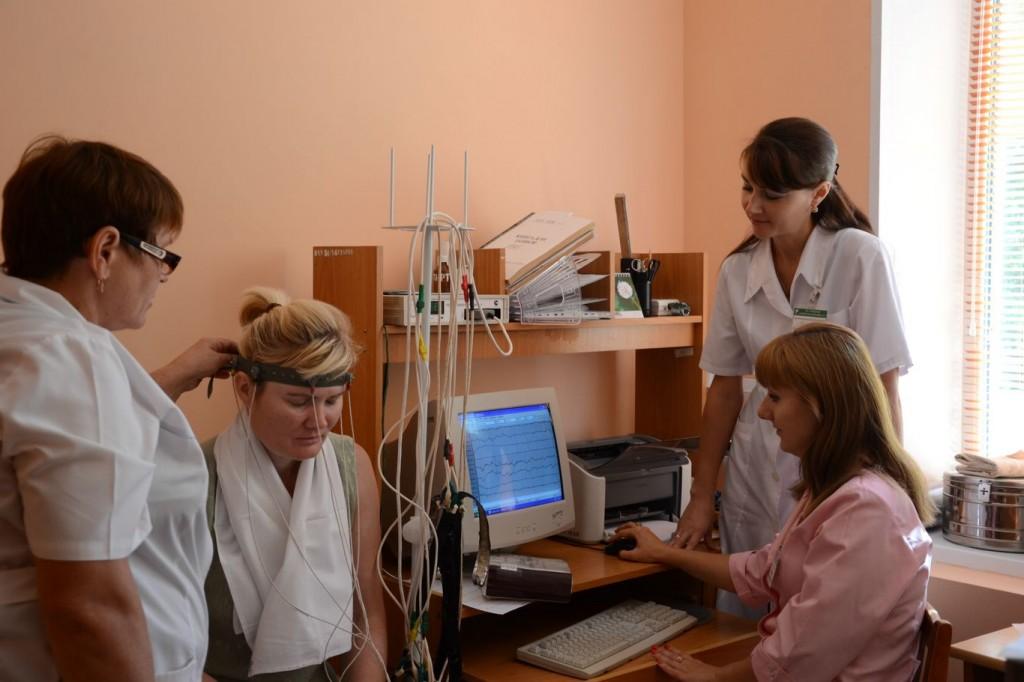 РЭГ исследование мозга