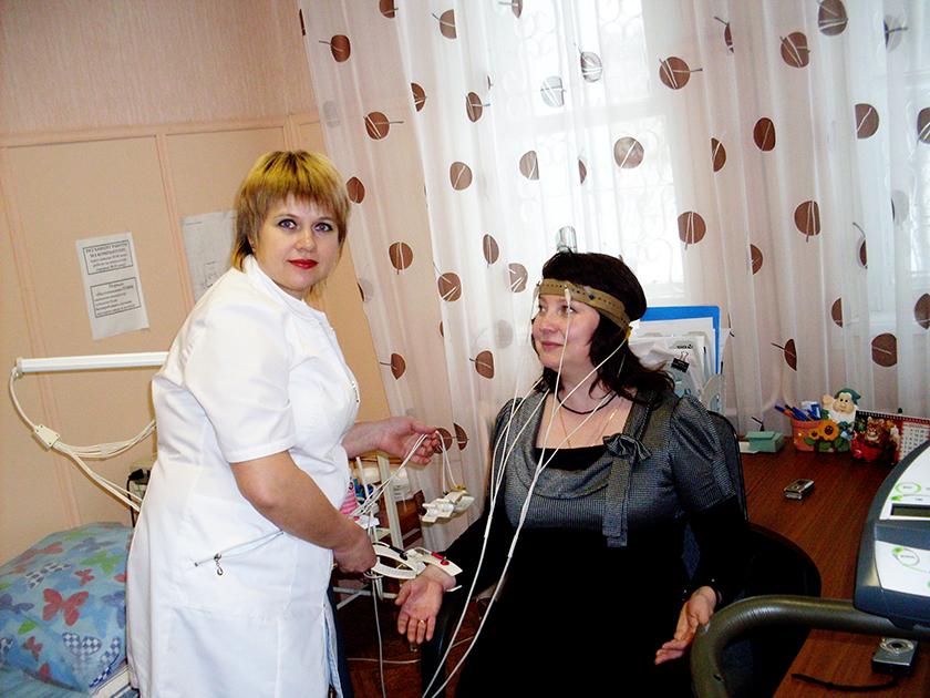 Процедура РЭГ для женщины