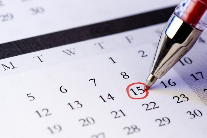 Дата зачатия в календаре