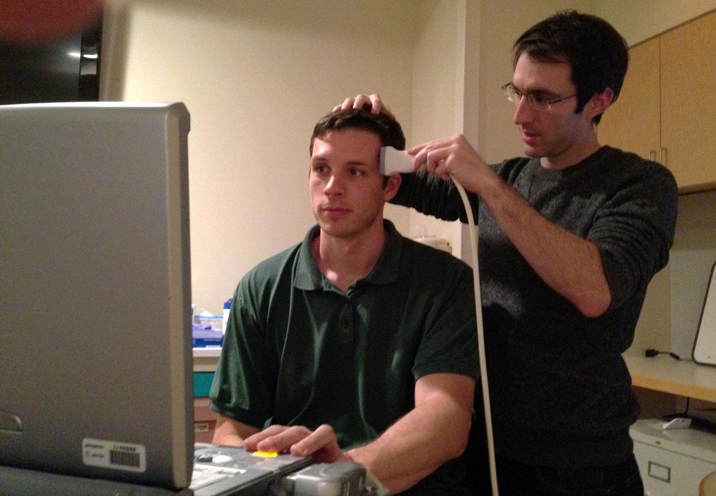 исследование сосудов головы
